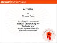 Microsoft Partner Programm